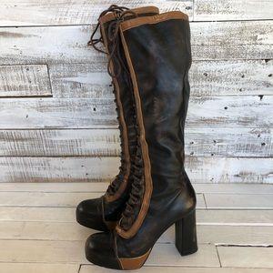 Jeffrey Campbell Knee High heel boots, size 39